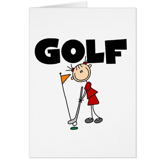 Girls GOLF Card