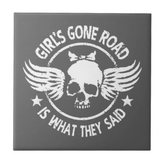 Girl's Gone Road Tile