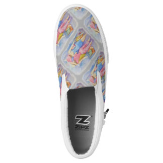 GIRLS GONE SHOPPING PRINTED SHOES