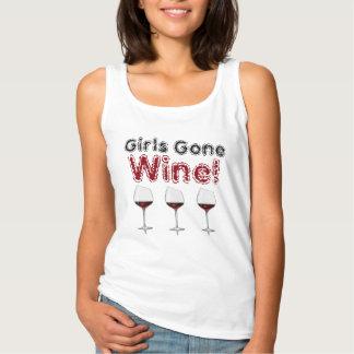 Girls Gone Wine/Wine Glasses - Tank Top