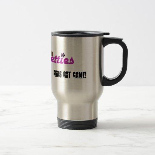 Girls Got Game! stainless mug