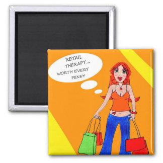 Girls Gotta Shop Magnet