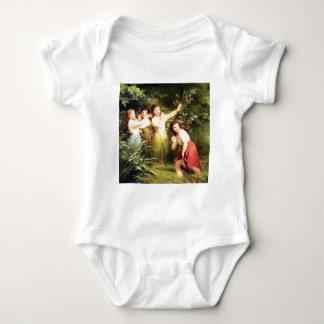 girls hide in the swamp baby bodysuit