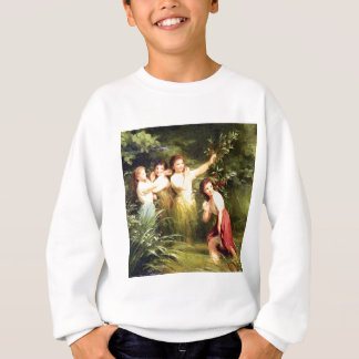 girls hide in the swamp sweatshirt