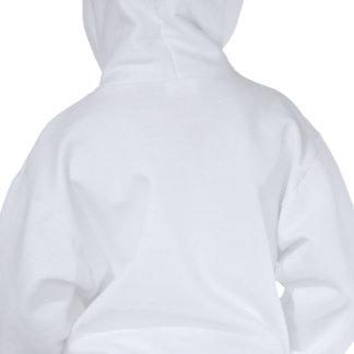 Girl's Hoodie: Bit of a Geek Hooded Sweatshirt