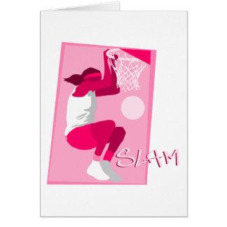 Girls Hoops Card