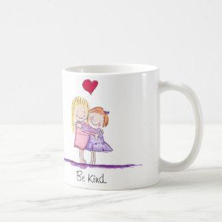 Girls Hugging Coffee Mug