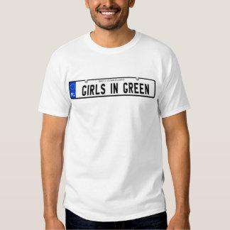 Girls in Green - Irish Plate Tees