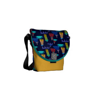 Girls in town messenger bags