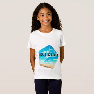 Girls Jesus is Lord Fine Jersey T-Shirt