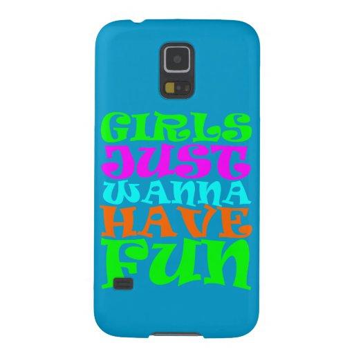 Girls Just Wanna Have Fun Samsung Galaxy Nexus Cases