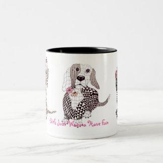 Girls Just Wanna Have Fun - Mug Doxie