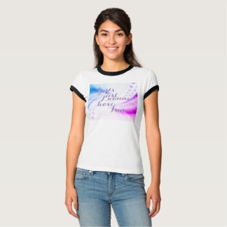 """Girls Just Wanna Have Fun"" Playful Art T-Shirt"