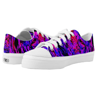 Girls Just Wanna Have Fun Printed Shoes