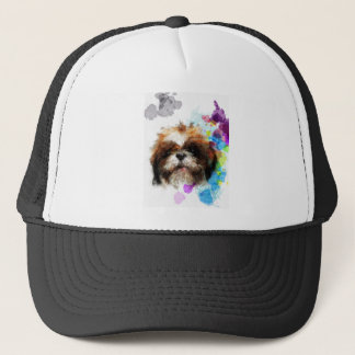 Girls just wanna have fun trucker hat
