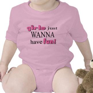 Girls Just Wanna Have Fun T-shirts