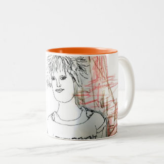 Girls just wanna have fun Two-Tone coffee mug