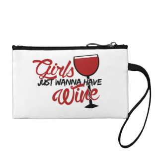 Girls just wanna have wine coin purses