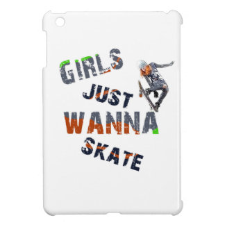 Girls just wanna skate iPad mini case