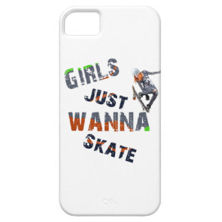 Girls just wanna skate iPhone 5 covers