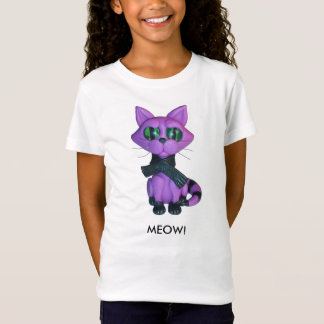 Girls Kitty tshirt