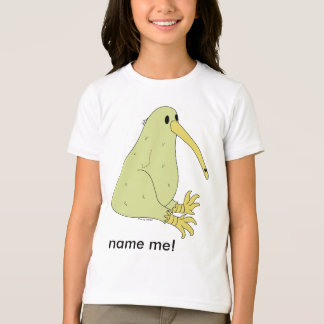 girl's kiwi bird ringer t-shirt