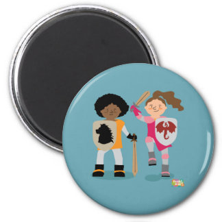 Girls Knight out Magnet