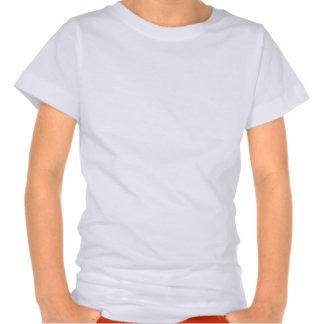 Girls LAT Sportswear Fine Jersey T-Shirt White