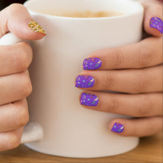 Girls Life lilac Minx Nail Art