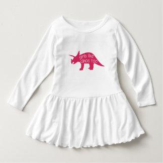 Girls like dinos too - toddler dress