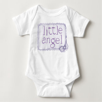 Girls Little Angel Undershirt Baby Bodysuit