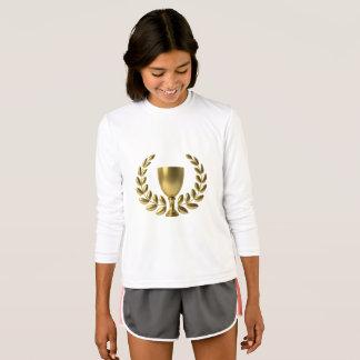 Girls Long Sleeve Shirt Champion Athletic Motivate