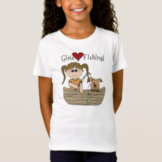 Girls Love Fishing T-shirts and Gifts