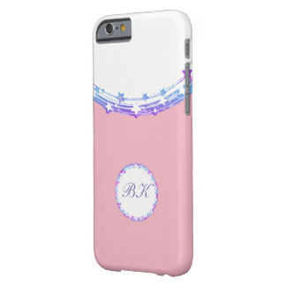 Girls Monogram Design Barely There iPhone 6 Case