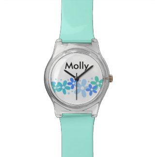 Girls Monogram Fashion Watch
