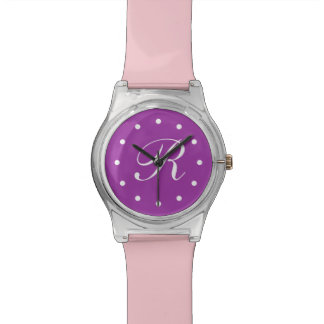 Girl's Monogram Wristwatch