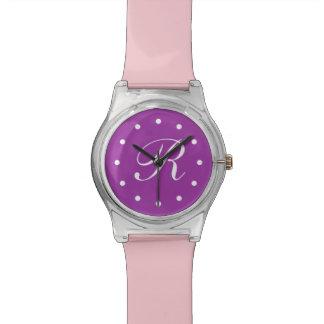 Girl's Monogram Wristwatch