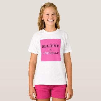 girls motivational t-shirt