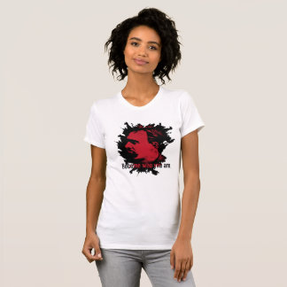 Girls Nietzsche T-Shirt - Become Who You Are