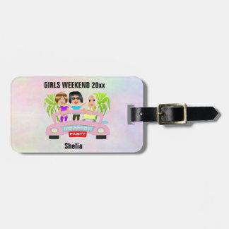 Girls Night Luggage Tag