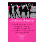 Girls Night Out 3.5x5 Paper Invitation Card