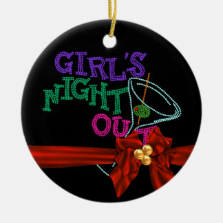 GIRLS NIGHT OUT CHRISTMAS ORNAMENT CUSTOM GIFT