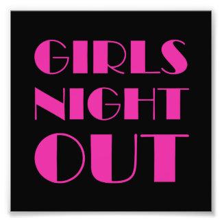 Girls Night Out Photo Print