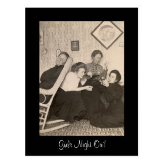 Girls-Night-Out Postcard! Postcard