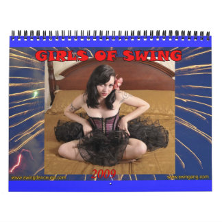 Girls of Swing 2009 Calendar