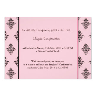 Girl's party invitation
