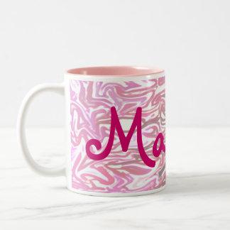 Girl's Personalised Pink Mug