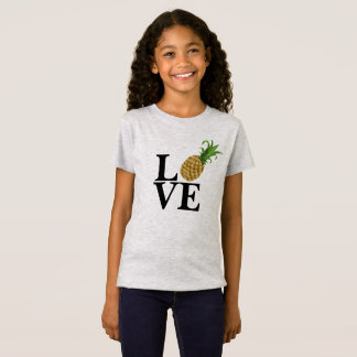 Girl's Pineapple Love T-Shirt