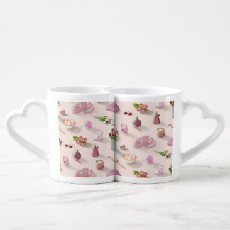 Girl's Pink Dream Coffee Mug Set