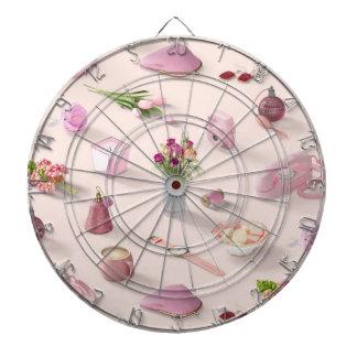 Girl's Pink Dream Dartboard